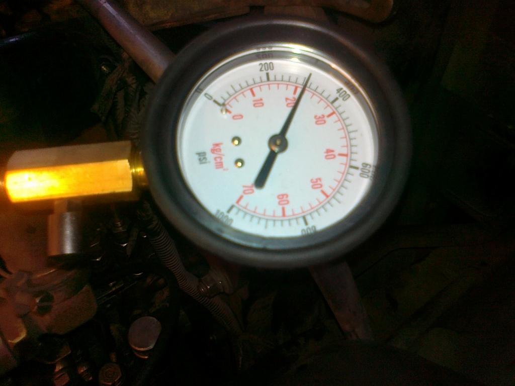 Проверка компрессии в цилиндрах дизельного двигателя