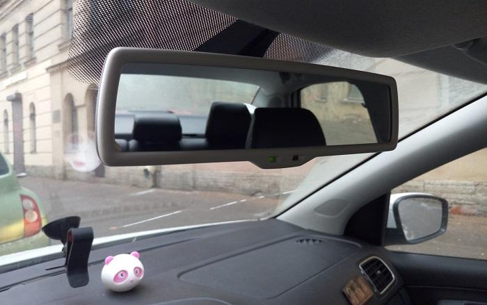 Как установить ранее снятое зеркало с лобового стекла