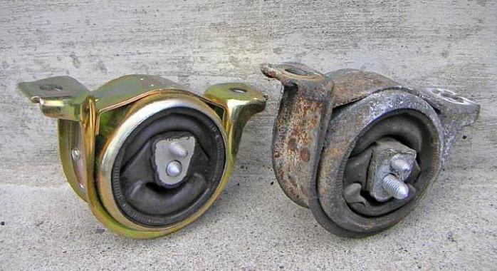 Подушки двигателя