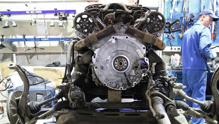 Капитальный ремонт дизельного мотора Фольксвагена Туарег