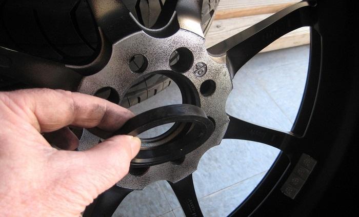 Отсутствие центровки колеса на ступице