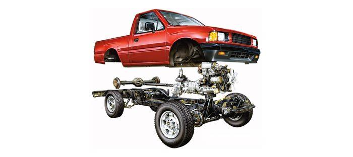 Рамная конструкция автомобиля
