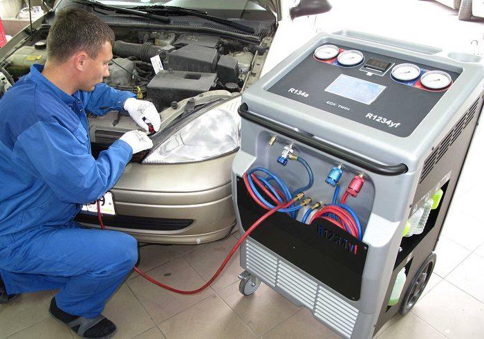 Замена компрессора автокондиционера в автосервисе