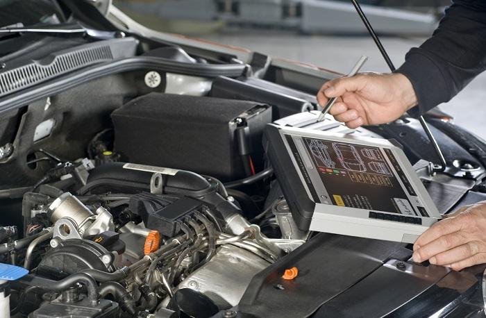 Компьютерная диагностика двигателя автомобиля: