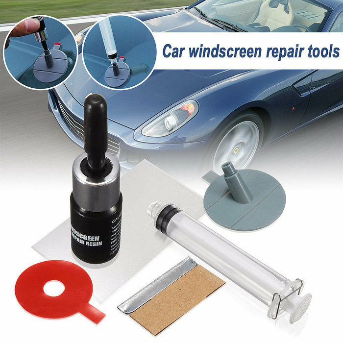 Windscreen Windshield Repair Tool DIY Car Auto Kit Glass For Chip&Crack