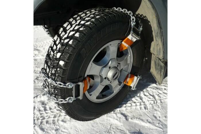 Альтернатива цепям противоскольжения на колесах