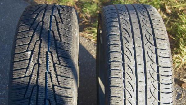 Разрешено ли водителю легкового автомобиля устанавливать разную резину