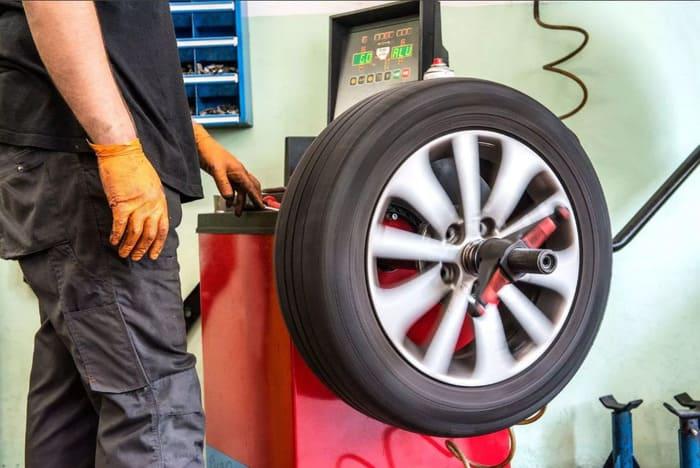 Дисбаланс колеса