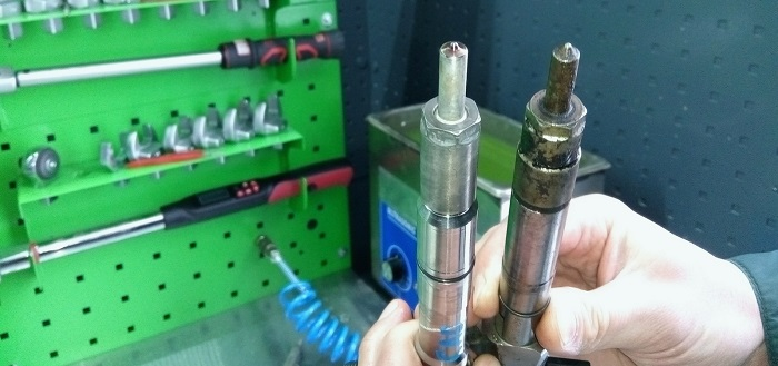 Цилиндр дизельного двигателя